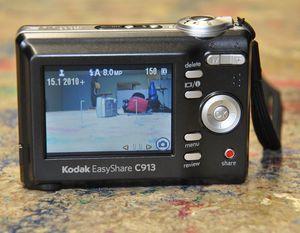 Ein typisches Display einer Digitalkamera