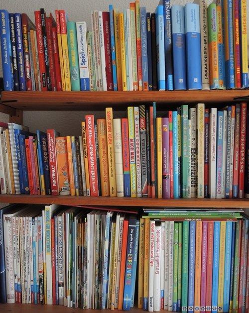 Sammlung von Experimente-Büchern