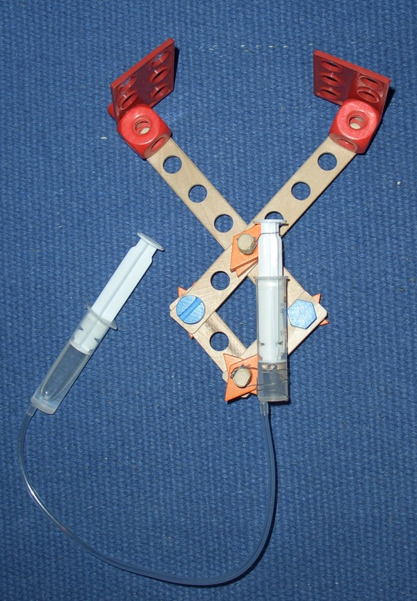 Baufix-Greifer/Zange mit Spritzenhydraulik