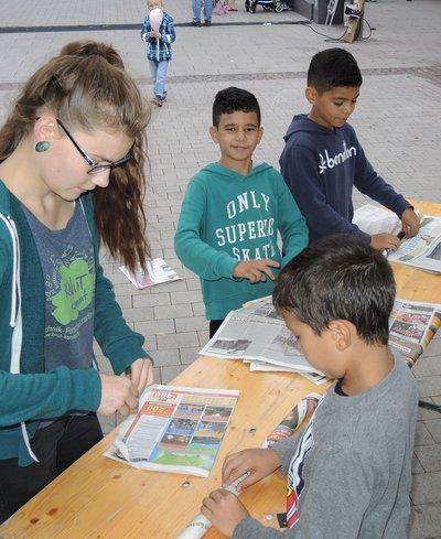 KNUT-kommt: Zeitungshaus bauen