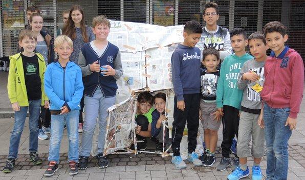 KNUT-Kommt: Das fertige Zeitungshaus
