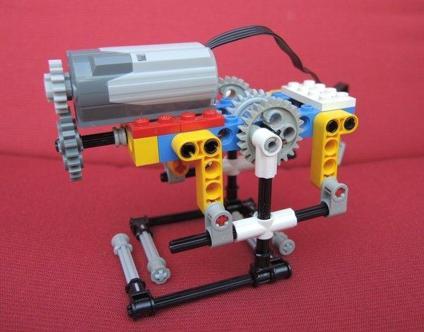 2-beinige Laufmaschine aus LEGO
